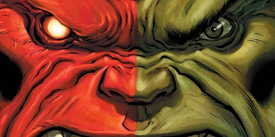 Two powerful hulks become one in the Marvel Strip