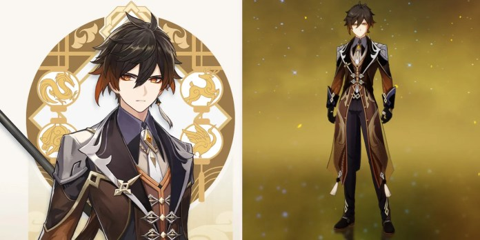 Zhongli Xiao Birthday: 17th April Age: Height: Estimated based on in-game comparisons.