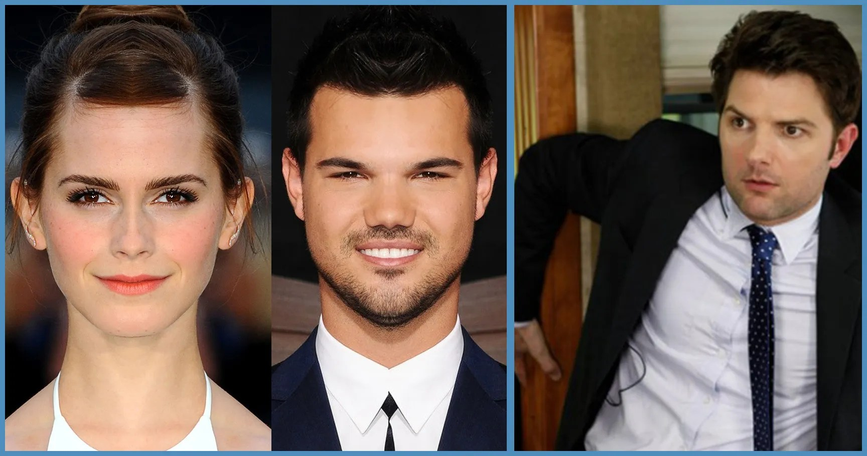 Scary Celebrities Symmetrical Faces