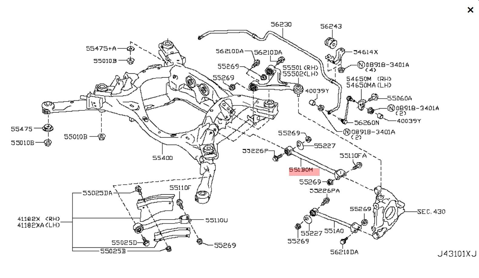R35 Gt R Nissan Oem Link Complete