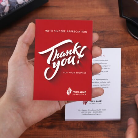 Custom Thank You Cards