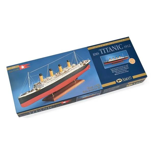 Titanic hajómakett építőkészlet Amati