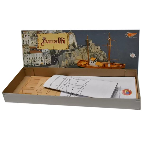 Amalfi hajómakett építőkészlet Mantua