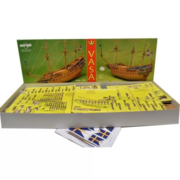 Vasa hajómakett építőkészlet Sergal