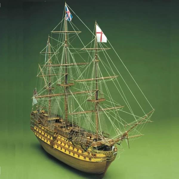 HMS Victory hajómakett építőkészlet Sergal
