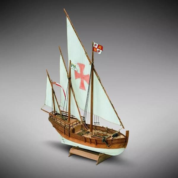 Nina hajómakett építőkészlet Kezdő és gyerek kitt