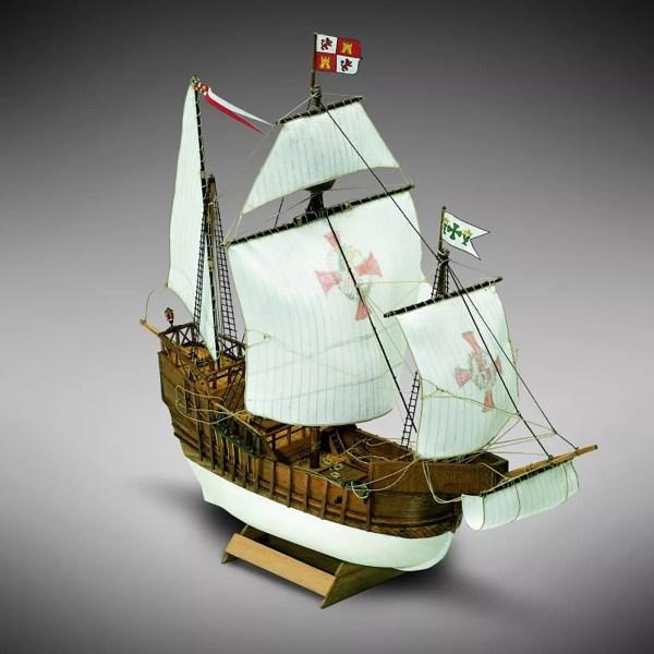 Santa Maria hajómakett építőkészlet Kezdő és gyerek kitt