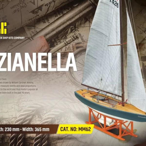 Star Genzaniella hajómakett építőkészlet Kezdő és gyerek kitt