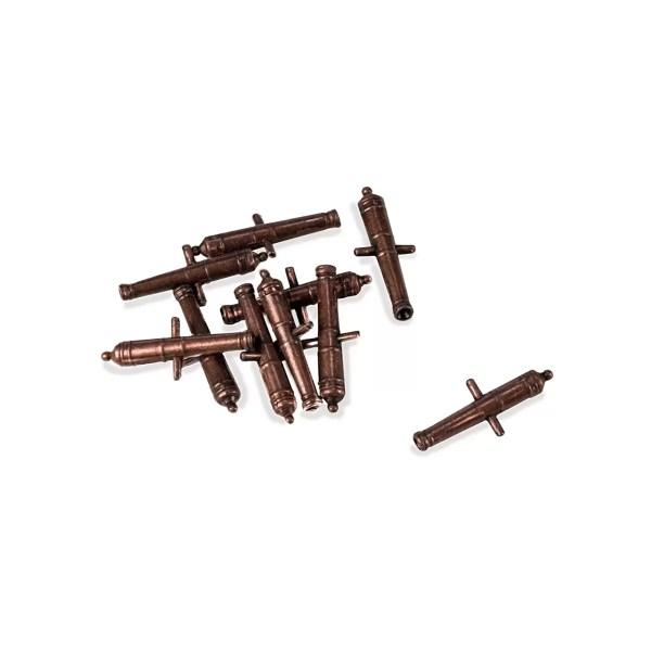 Fém ágyúcső 18mm 1 darab Kiegészítők