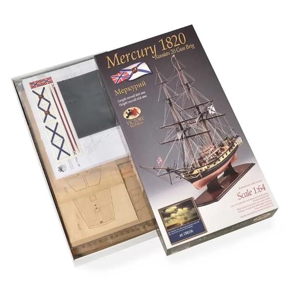 Mercury hajómakett építőkészlet Victory Models