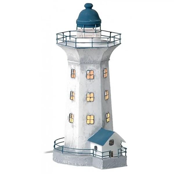 Világítótorony világítással 43 cm Lámpa