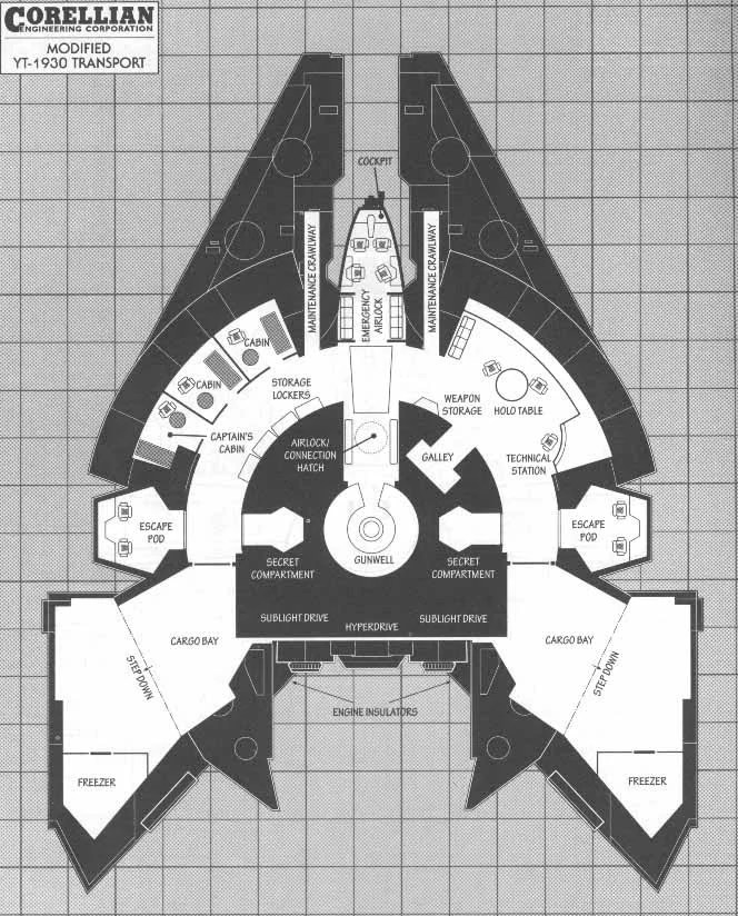 Plans Deck Light Freighter Yu 410