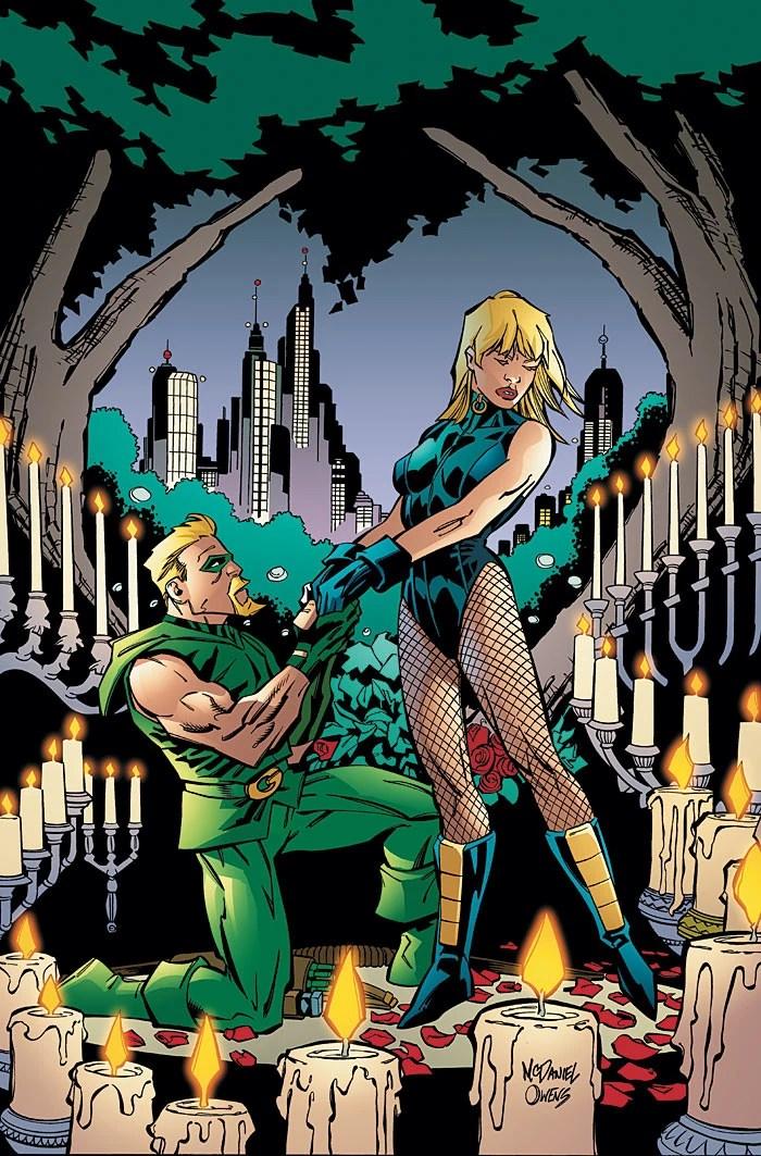Casamento do Arqueiro Verde e Canário Negro