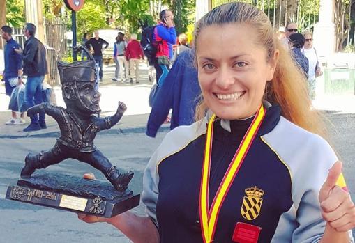 Lucy ha sido segunda (2018 y 2019) y tercera (2017) en los 101 kilómetros de la Legión (Ronda)