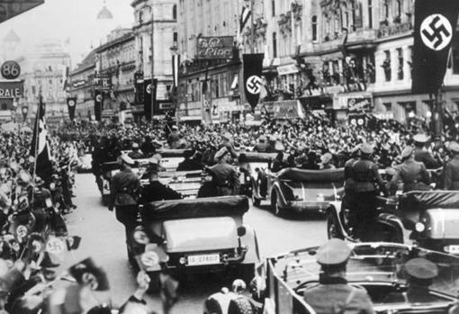 Anschluss: las tropas alemanas entran en Austria