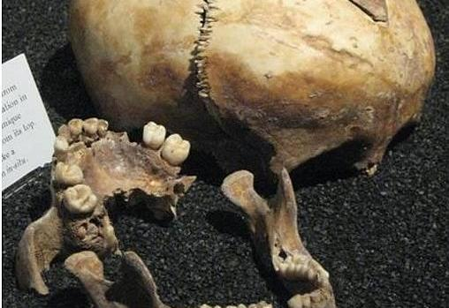Los huesos hallados en el sótano de Franklin