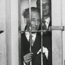 Companys, ingresado en prisión en 1934