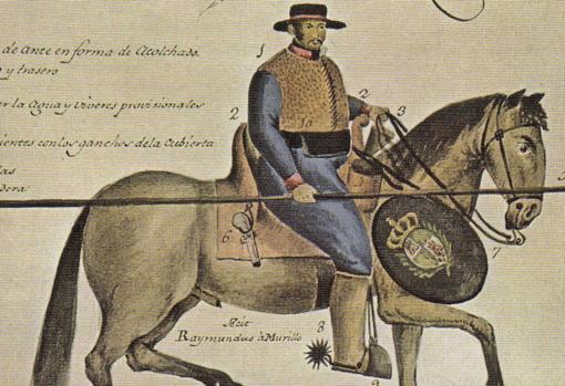 Dragón de cuera español, las tropas utilizadas en las tierras americanas para enfrentarse a los nativos