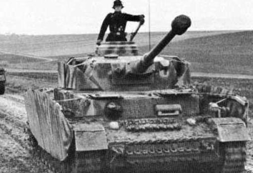Panzer IV, the most produced battle tank by the Third Reich in World War II