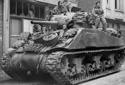Sherman, the backbone of American armored divisions during World War II