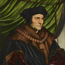 Thomas More (1527), by Hans Holbein the Younger.