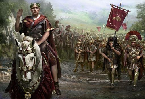 Recreación de una legión romana