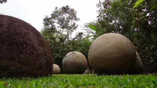 Esferas de piedra en el Cantón de Osa