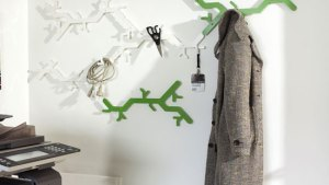 Jan Habraken And Alissia Melka Teichroew Tree Hooked Coat Rack