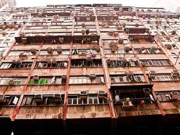 If he spent his ENTIRE YEARLY INCOME on housing, the average Beijing resident could buy 10 square feet of residential property