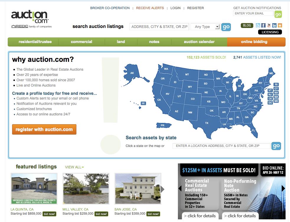 Auction.com — $1,700,000