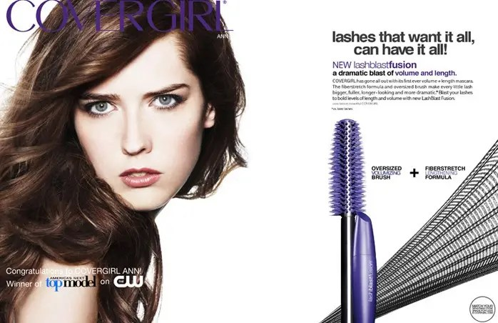ann ward cover girl