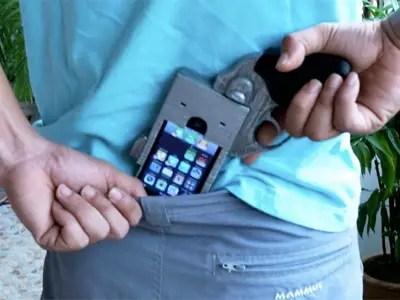 gun iphone