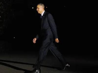 Barack Obama dark