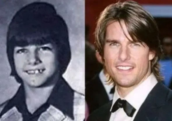Tom Cruise was an outgoing class clown who grew up with three sisters.