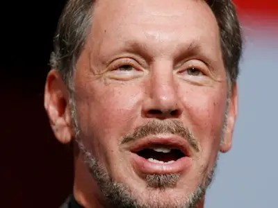 Oracle's Larry Ellison: Perpetually on top.