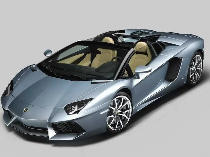 Lamborghini's New $445,300 Aventador Is Topless And Hugely Powerful
