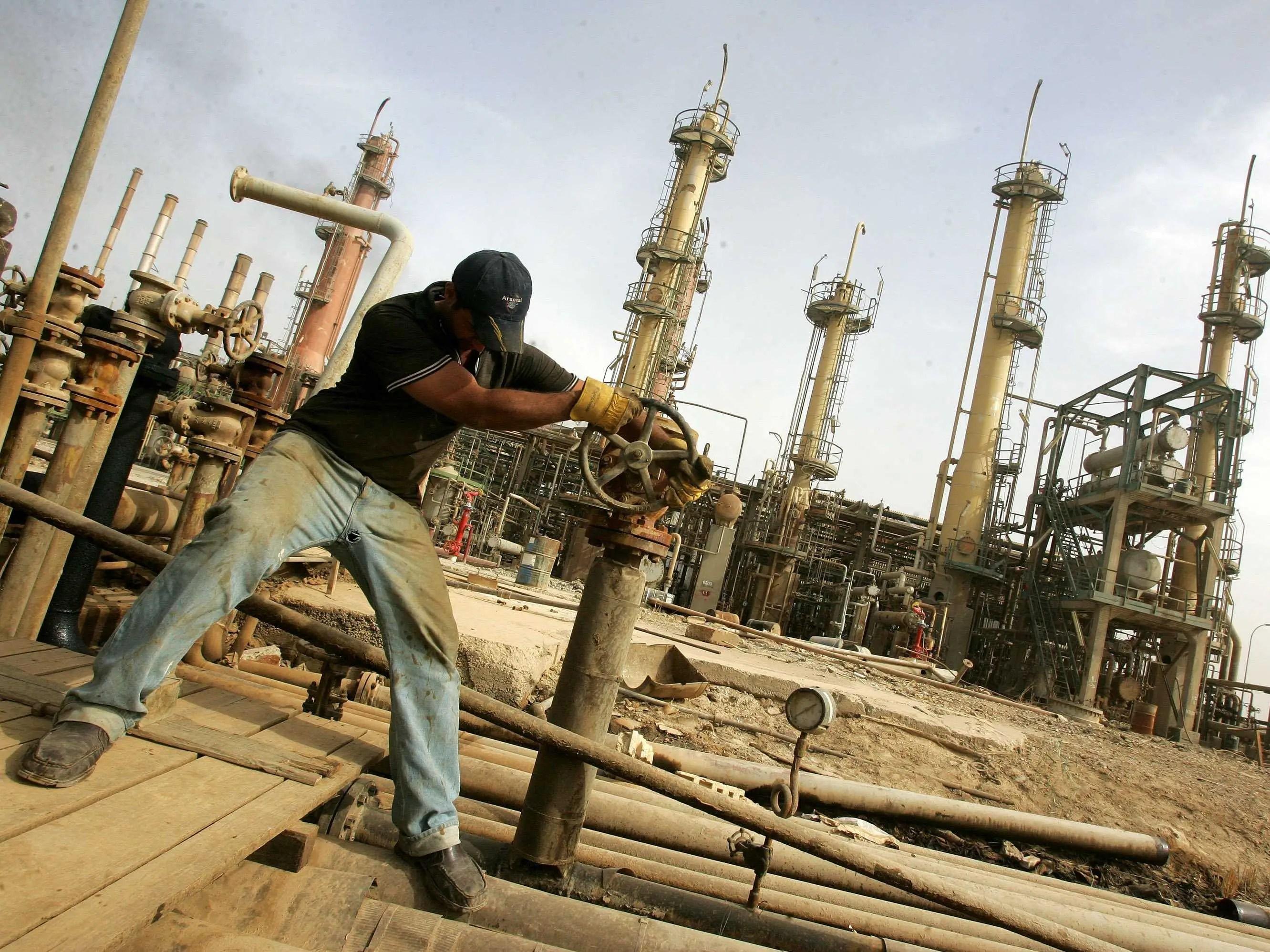 iraq, oil fields