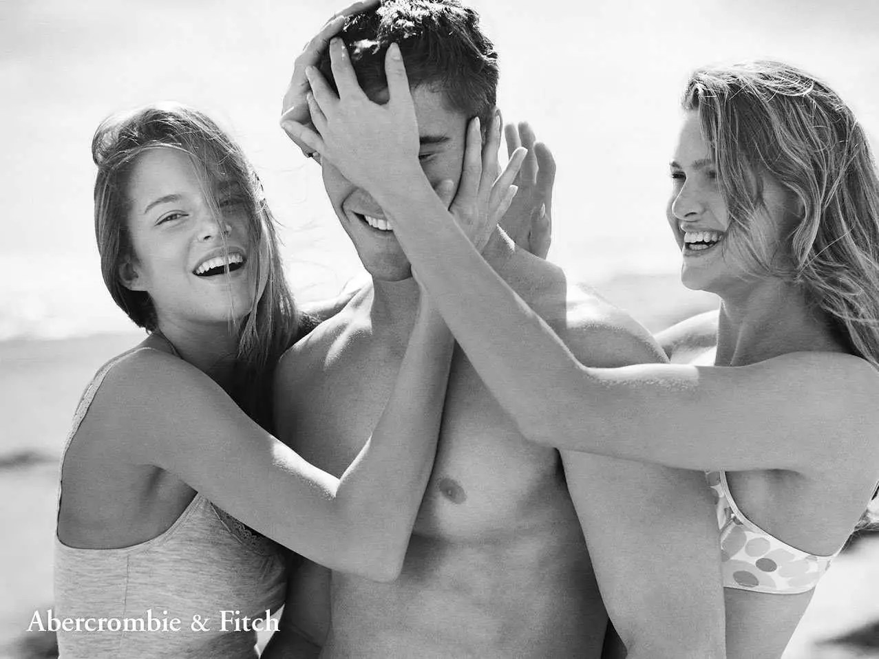 Abercrombie and fitch nude ad were