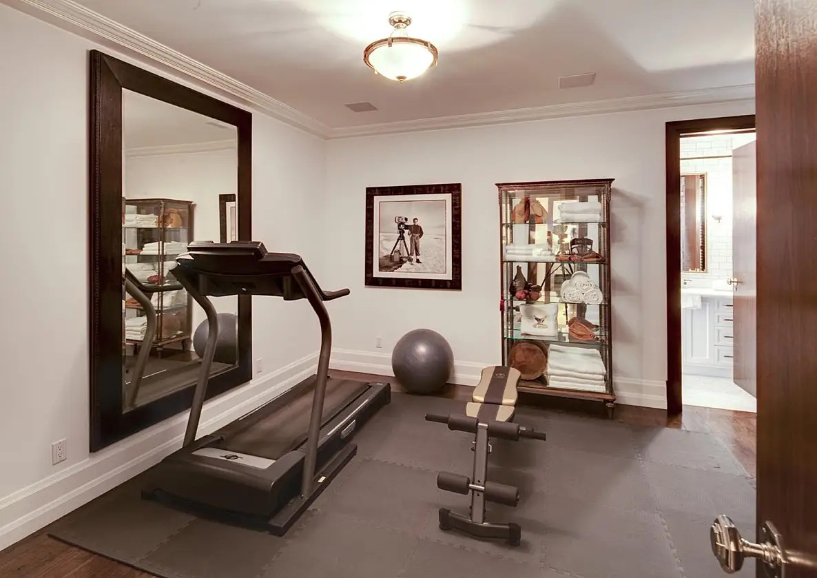 And a gym.
