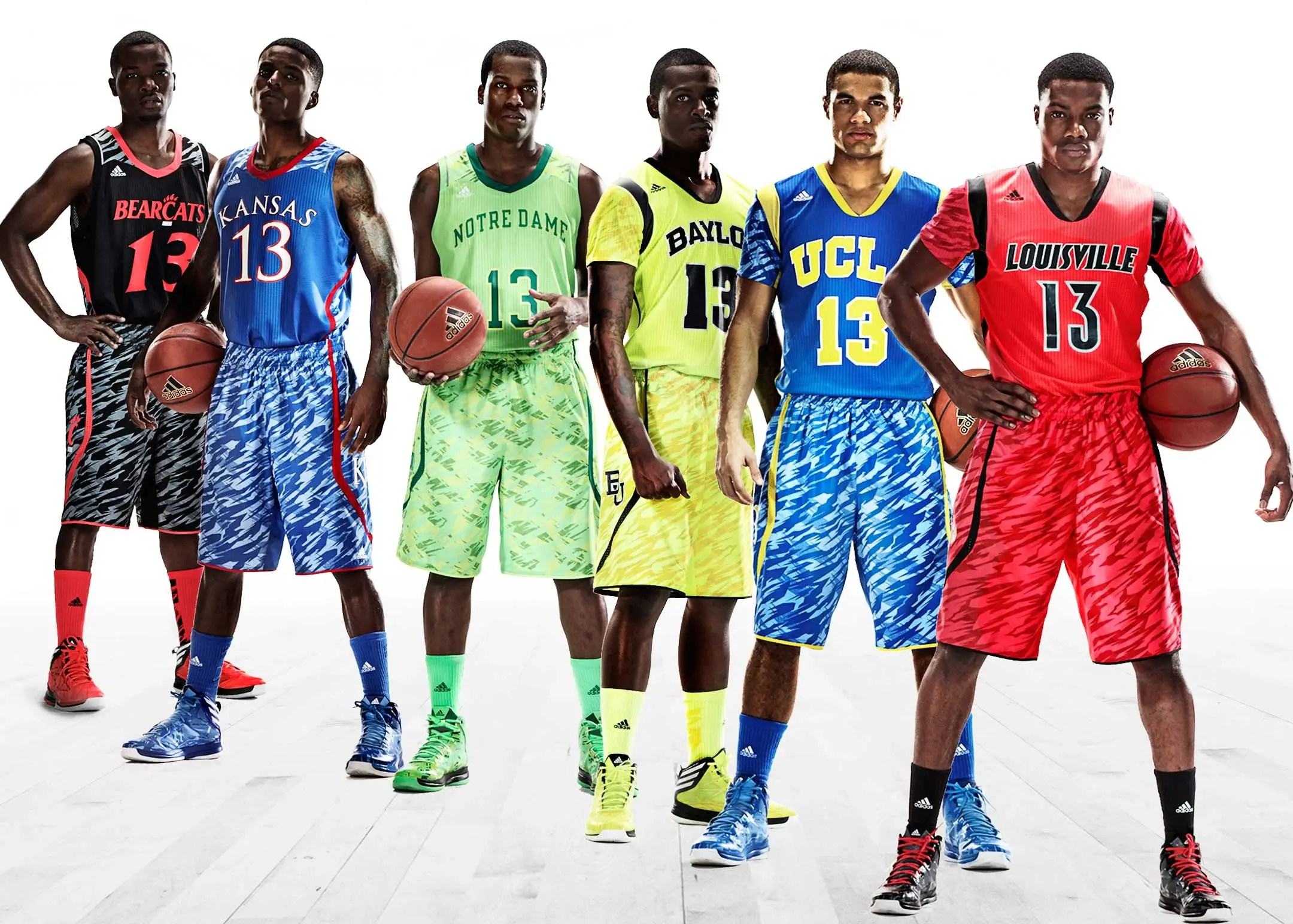 adidas reveals new ucla kansas uniforms picture business insider