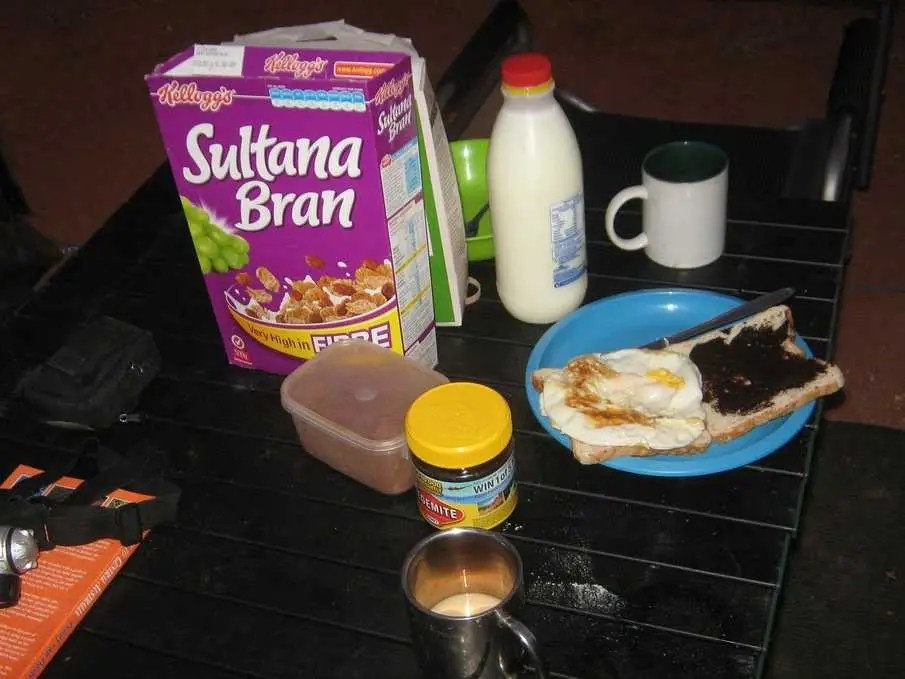 AUSTRALIA: The typical breakfast consists of cold cereal and toast with vegemite.