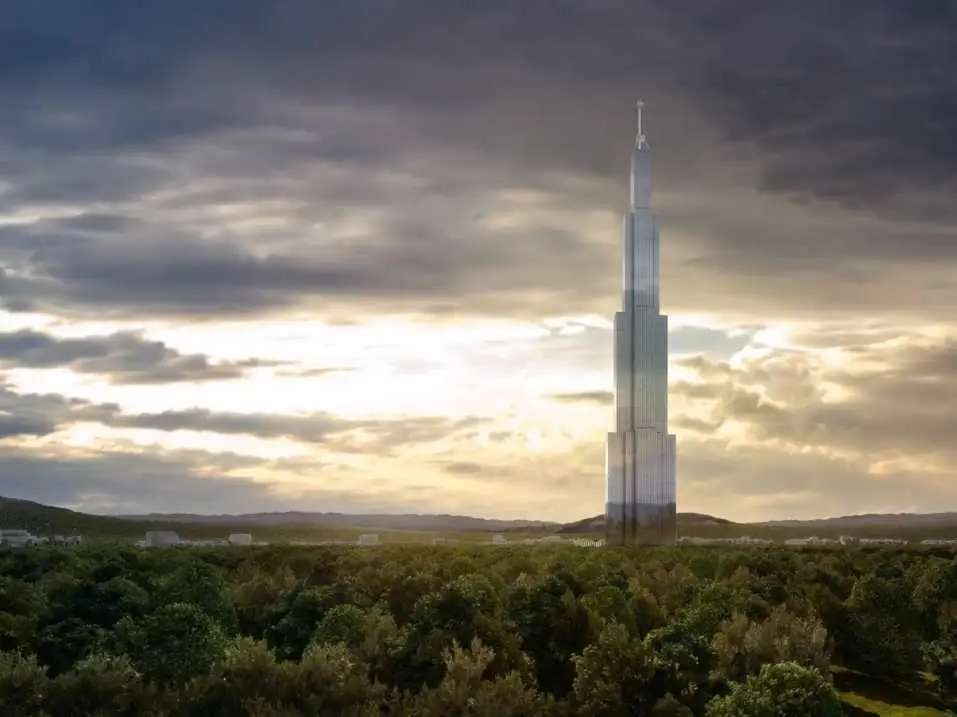Bonus - China will begin construction on Sky City, the new tallest building in the world.