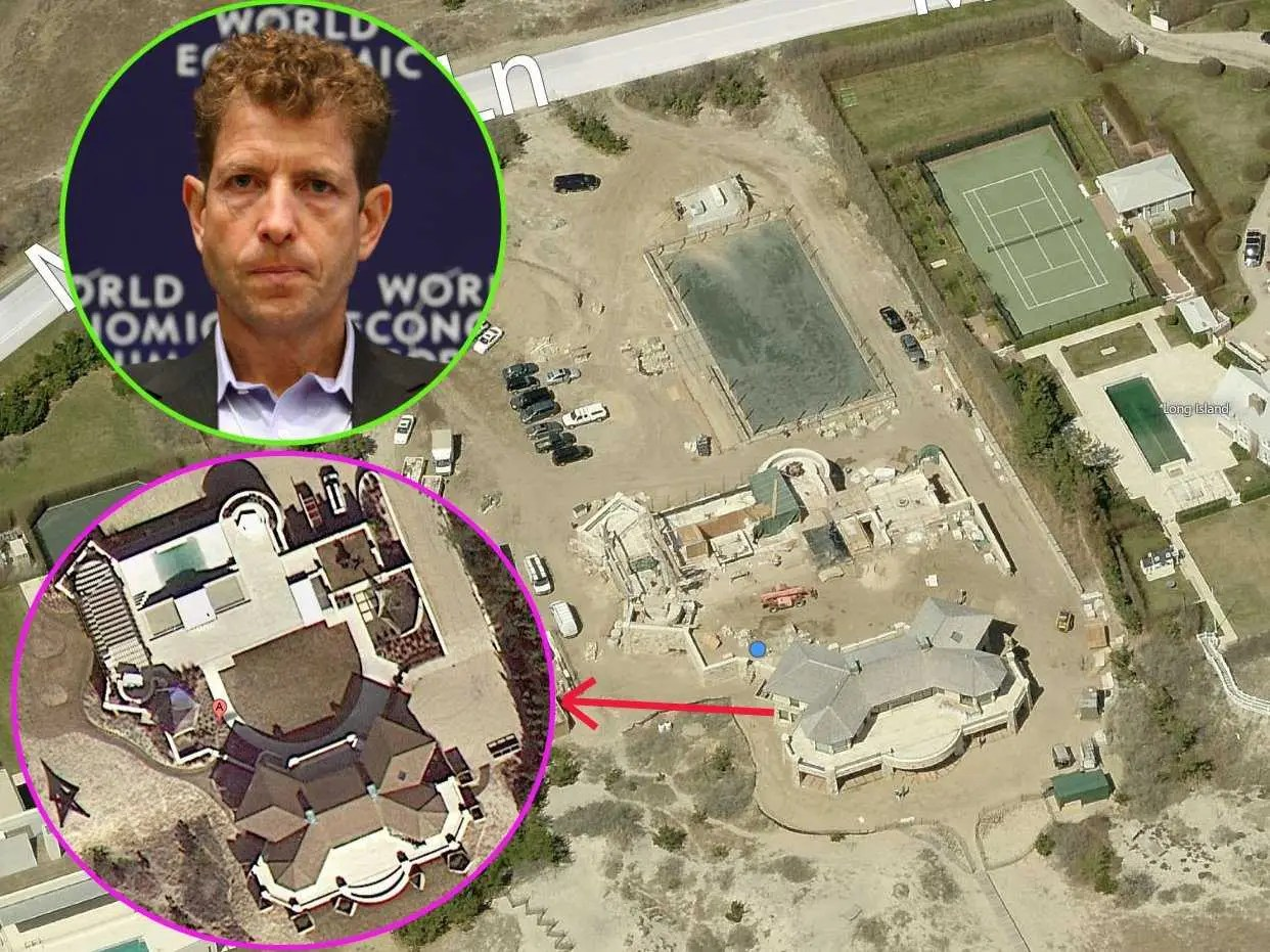 Daniel Och, CEO of Och-Zipp Capital Management Group, has a 4-acre estate valued at $20.4 million with a 7,000-square-foot mansion.
