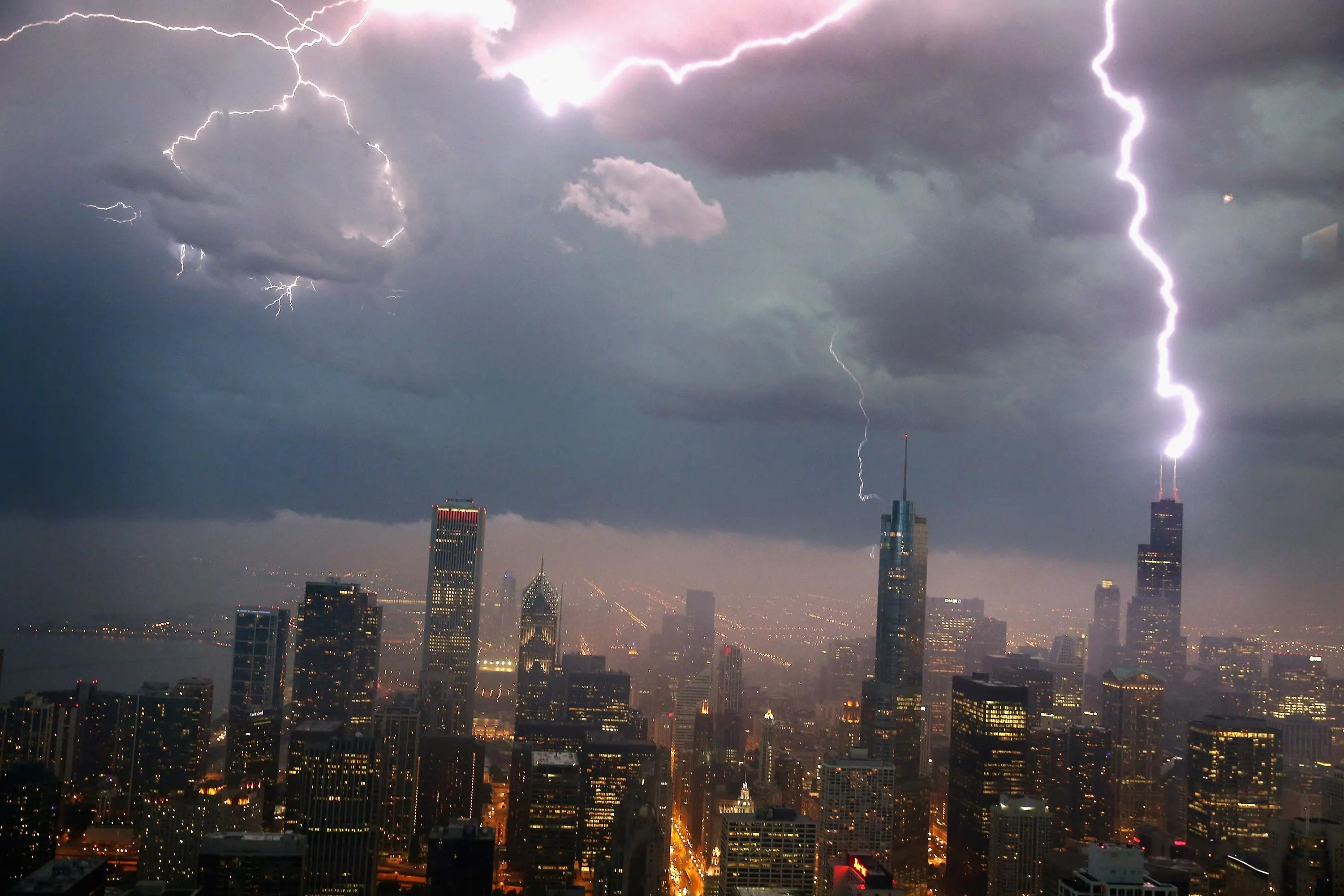 Lightning does strike twice. And some places, like the Empire State Building, get struck up to 100 times a year.