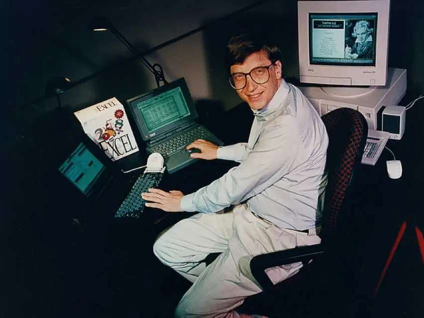 Bill Gates originally wrote a PC operating system for IBM. He convinced them to let him sell it to others, starting him on the way to becoming the richest man in the world.