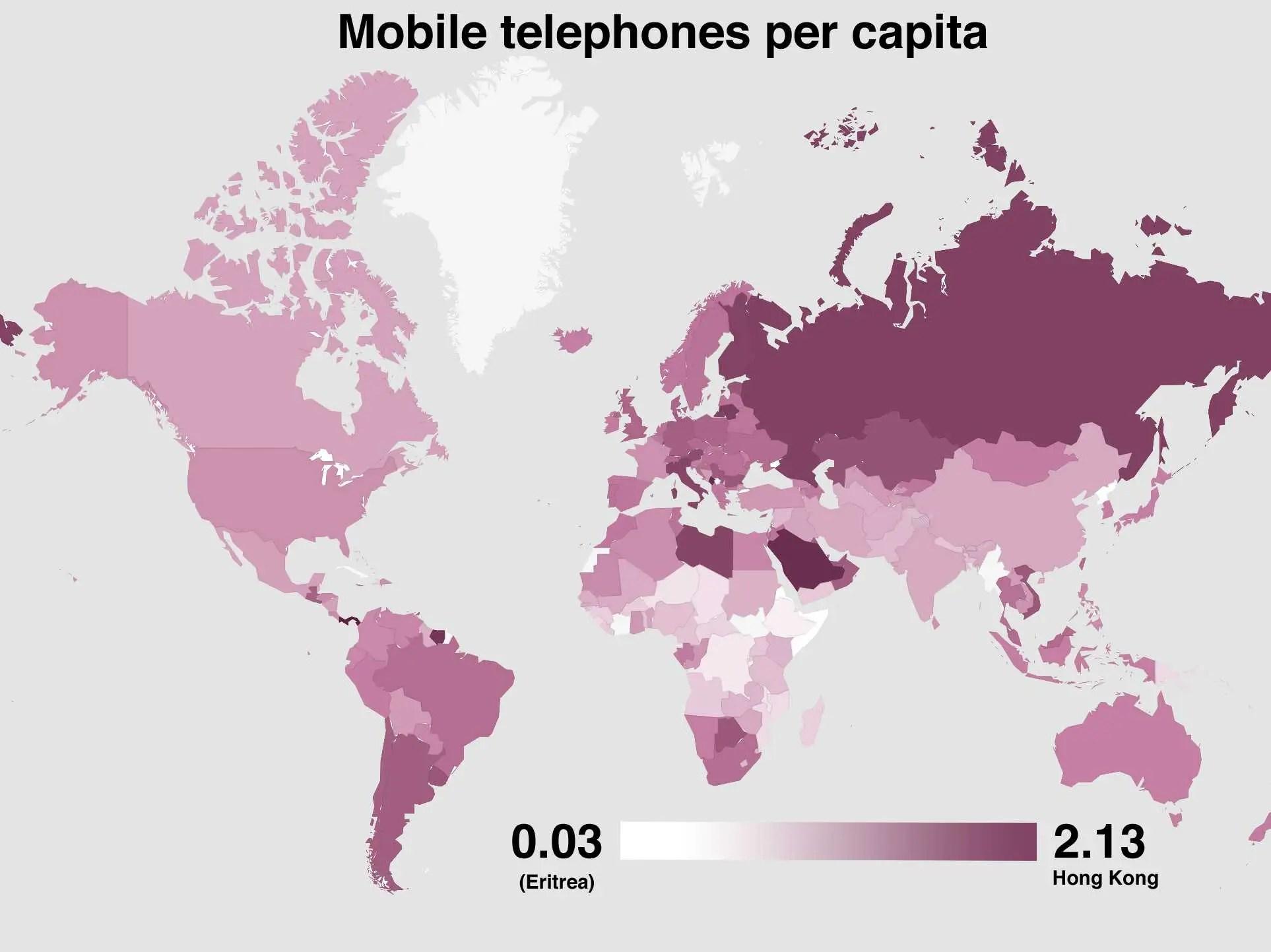 World Economy Maps
