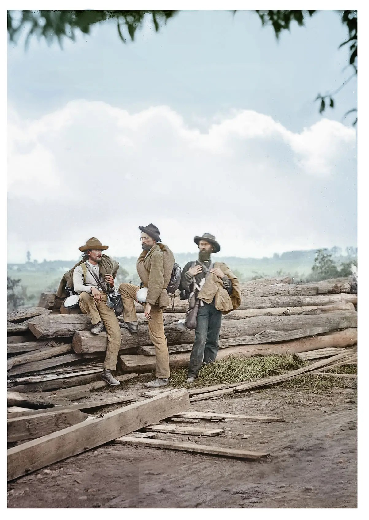 Colorized American Civil War Photos From Reddit
