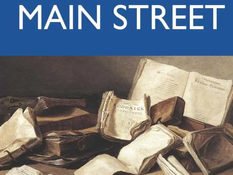 "MINNESOTA: ""Main Street"" by Sinclair Lewis"