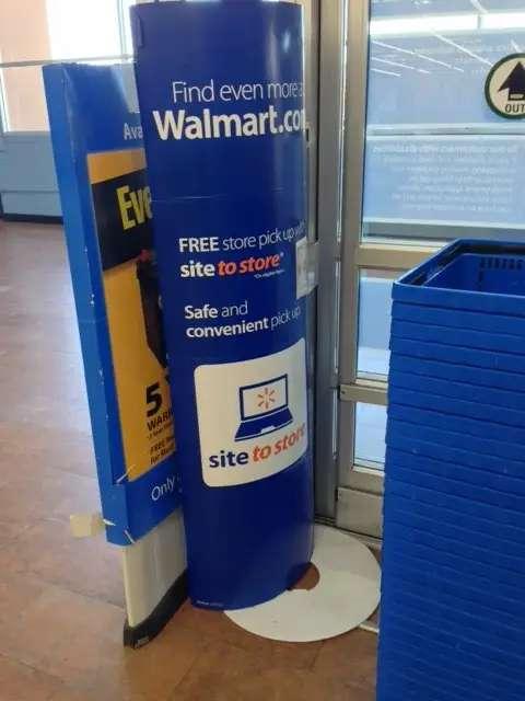 Online Promo wal-mart empty shelves