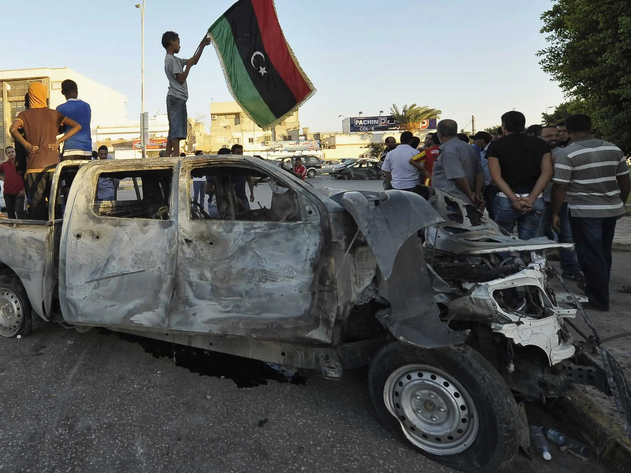 Image result for Chaos in Libya images